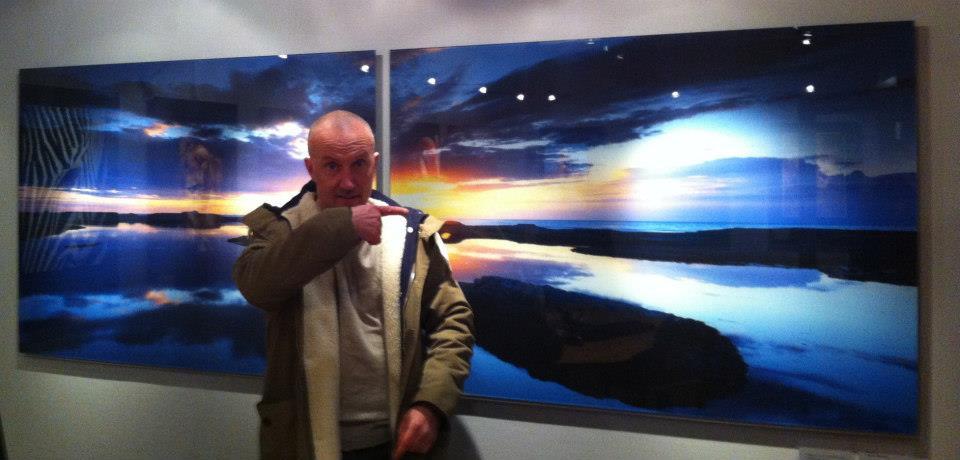 Utställning med fotografisk konst av Mickey Thörnblad